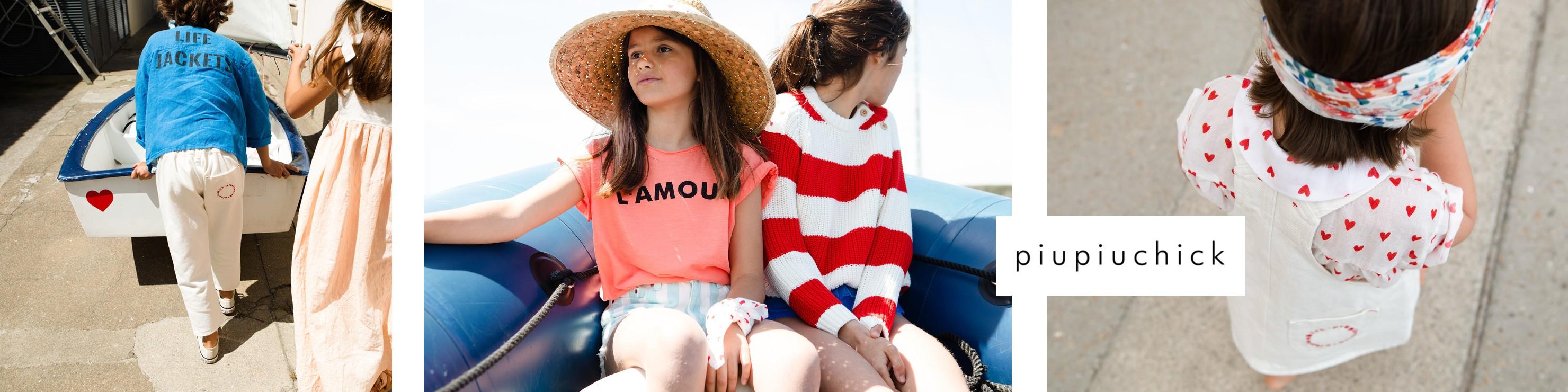 """Piupiuchick est une marque créative et passionnée originaire dePorto, de fabricationlocal en coton biologique. Embarquez sur le Pacific Princess grâce à la collection """"Come board"""""""