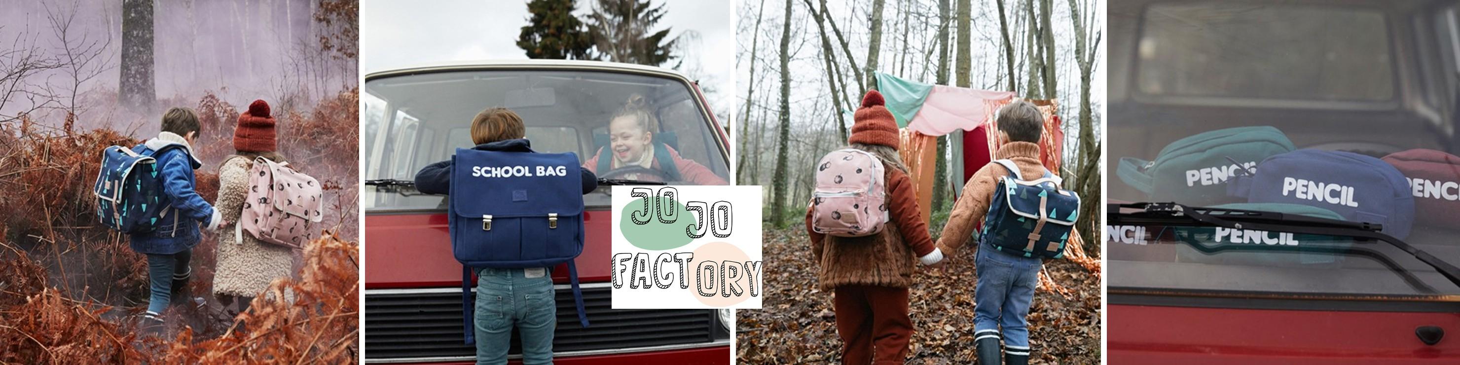 46ee748009f47 Vive la rentrée des classes avec les cartables, sacs à dos et trousses Jojo  Factory ...