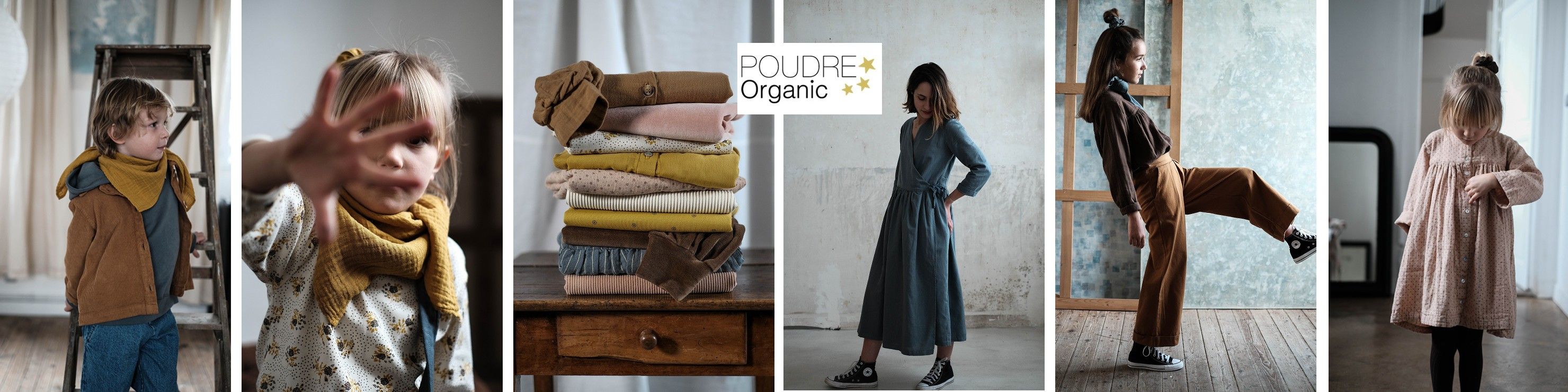 Découvrez la collection automne/hiver 2020 de Poudre Organic, la marque française engagée et responsable pour vos enfants : Les Ormes