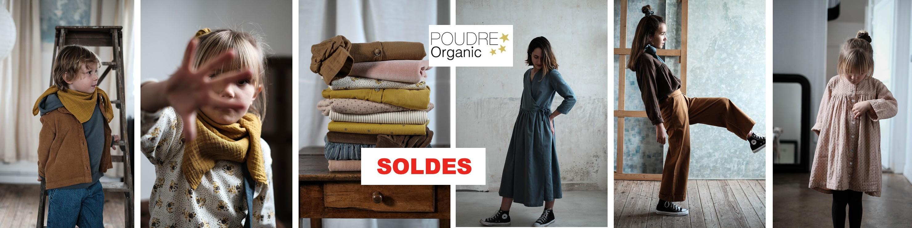 Découvrez les soldes de la collection automne/hiver 2020 de Poudre Organic, la marque française engagée et responsable pour vos enfants : Les Ormes